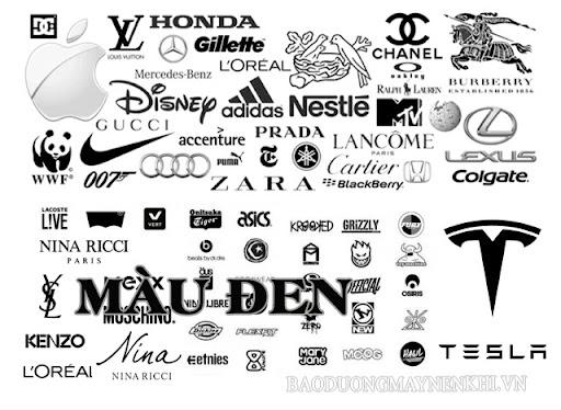 Màu đen được nhiều thương hiệu nổi tiếng chọn mặt gửi vàng