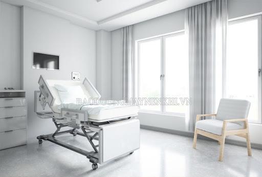 Màu trắng là màu sắc được sử dụng chủ yếu trong bệnh viện, trung tâm y tế