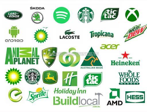 Những thương hiệu sử dụng thành công màu xanh lá cây cho logo của mình