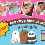Tìm hiểu về app chụp hình có 3 con gấu trên mặt